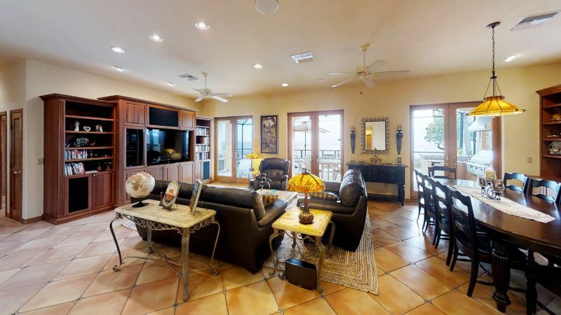 Snug-Harbor-Cocoa-Beach-Riverfront-Poolhome-Living-Room